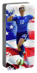 Carli Lloyd Portable Battery Charger