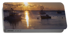 Chatham Sunrise Portable Battery Charger by Charles Harden