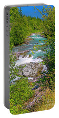 Portable Battery Charger featuring the photograph Cheakamus River by Sharon Talson