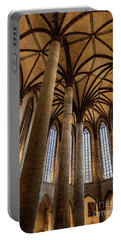 Portable Battery Charger featuring the photograph Church Of The Jacobins Interior by Elena Elisseeva