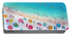 Colors Of The Beach Portable Battery Charger