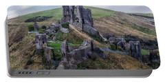 Corfe Castle - England Portable Battery Charger
