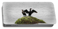 Cormorants Port Jefferson New York Portable Battery Charger