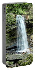 Cucumber Falls Pennsylvania Portable Battery Charger by Chris Smith
