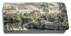 Portable Battery Charger featuring the photograph D Abstract Photography by Kevin Blackburn