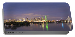 Dallas Skyline Twilight Portable Battery Charger