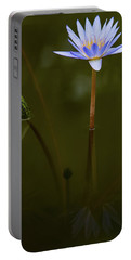 Deep Lily Reflection Portable Battery Charger