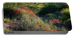 Portable Battery Charger featuring the photograph Desert Wildflowers  by Saija Lehtonen