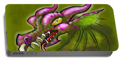 Dragon Portable Battery Charger by Kevin Middleton