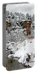 East Verde Winter Crossing Portable Battery Charger