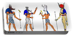 Egyptian Gods And Goddess Portable Battery Charger