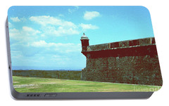 Portable Battery Charger featuring the photograph El Morro by Gary Wonning