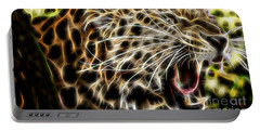 Electric Leopard Wall Art Collection Portable Battery Charger