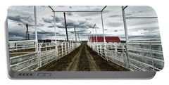 Empty Corrals Portable Battery Charger by L O C