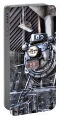 Engine 89 In Shed Portable Battery Charger by Paul W Faust - Impressions of Light