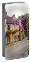 Portable Battery Charger featuring the photograph English Village by Jill Battaglia