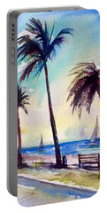 Evening Solitude Portable Battery Charger