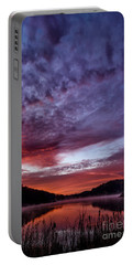 First Light On The Lake Portable Battery Charger