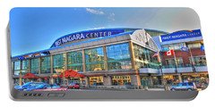 First Niagara Center Portable Battery Charger by Michael Frank Jr