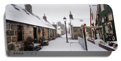 Fittie In The Snow Portable Battery Charger