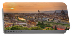 Florence Sunset Portable Battery Charger