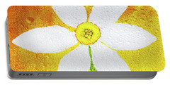 Portable Battery Charger featuring the photograph Flower Paradise by Bess Hamiti