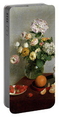 Flowers And Fruit Portable Battery Charger