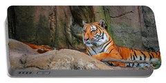 Fort Worth Zoo Tiger Portable Battery Charger