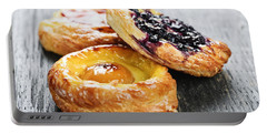 Fruit Danishes Portable Battery Charger