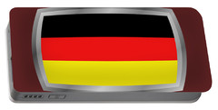 Germany Flag Portable Battery Charger