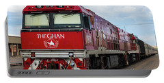 ghan at Alice Springs Portable Battery Charger