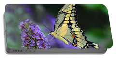 Portable Battery Charger featuring the photograph Giant Swallowtail by Rodney Campbell