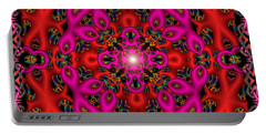 Portable Battery Charger featuring the digital art Glimmer Of Hope by Robert Orinski