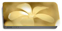 Golden Petals Portable Battery Charger