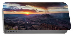 Grand Canyon Monsoon Sunset Portable Battery Charger