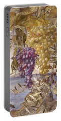 Grapes And Olives Portable Battery Charger