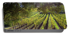 Grapevines In The Fall Portable Battery Charger