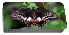 Great Mormon Butterfly Portable Battery Charger by Ronda Ryan