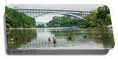 Henry Hudson Bridge Portable Battery Charger