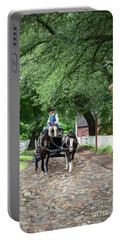 Horse Drawn Wagon Portable Battery Charger