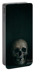 Human Skull Portable Battery Charger