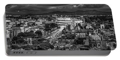 Portable Battery Charger featuring the photograph Il Colosseo by Sonny Marcyan