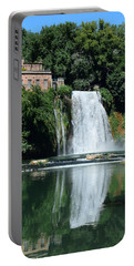 Portable Battery Charger featuring the photograph Isola Del Liri Falls by Dany Lison