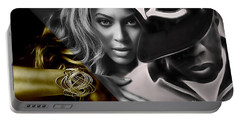 Jay Z Beyonce Collection Portable Battery Charger
