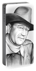 John Wayne Portable Battery Charger