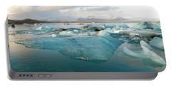 Jokulsarlon The Glacier Lagoon, Iceland 2 Portable Battery Charger