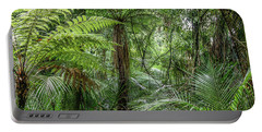 Portable Battery Charger featuring the photograph Jungle Ferns by Les Cunliffe