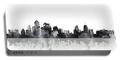 Kansas City Missouri Skyline Portable Battery Charger