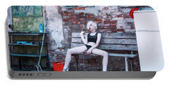 Portable Battery Charger featuring the photograph Kelevra by Traven Milovich