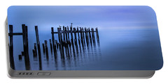 Colorful Overcast At Twilight Portable Battery Charger